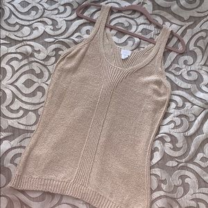 Sigrid Olsen Sleeveless, Sweater Tank- Size M